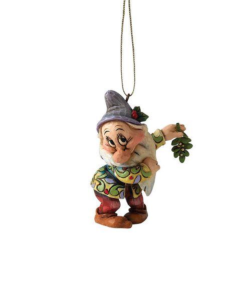 Jim Shore Natale - Decorazione per albero Mammolo (Bashful)