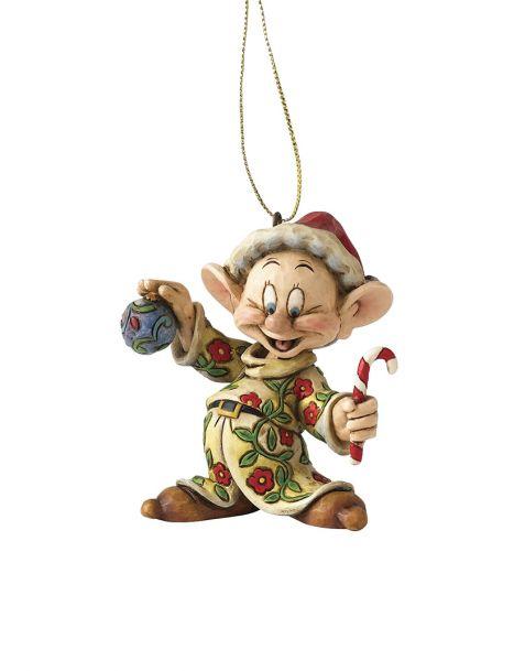 Jim Shore Natale - Decorazione per albero Cucciolo (Dopey)