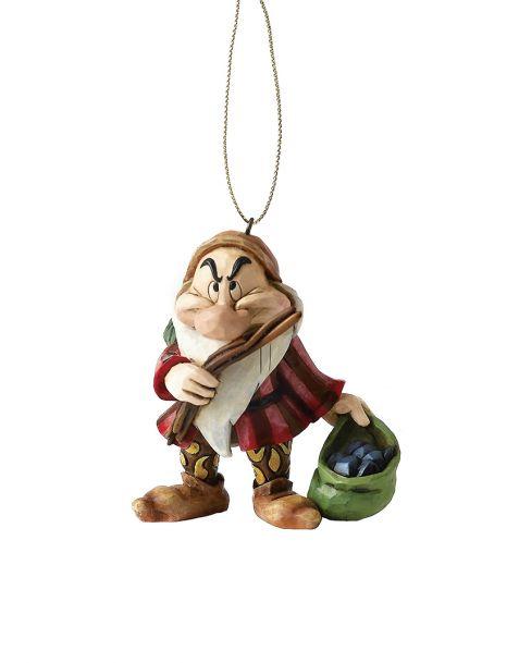 Jim Shore Natale - Decorazione per albero Brontolo (Grumpy)