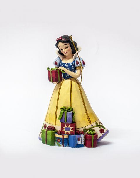 Jim Shore Natale - Decorazione per albero Snow White (Biancaneve)