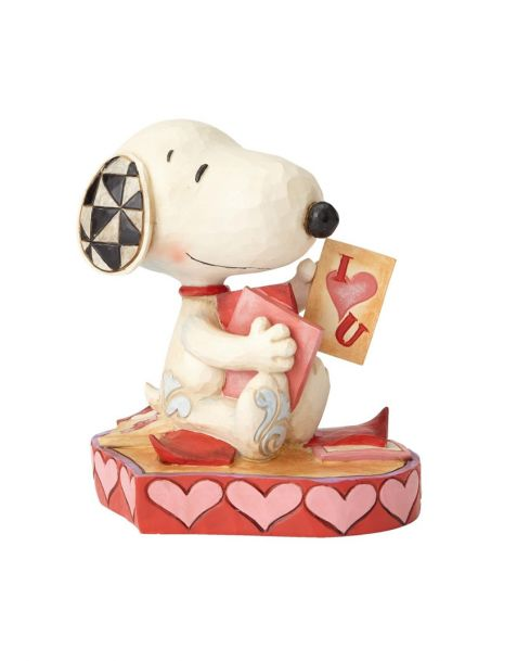 Jim Shore Peanuts - Snoopy Puppy Love