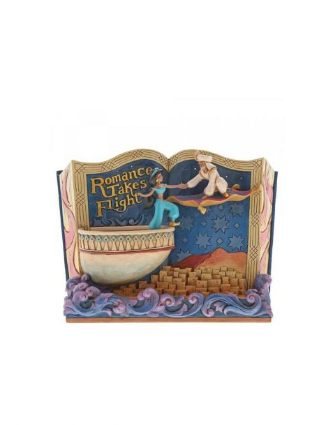 Jim Shore Disney Tradition Aladdin - Storybook