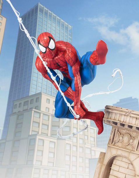 Kotobukiya Marvel Universe ARTFX Statue - Spider-Man Web Slinger