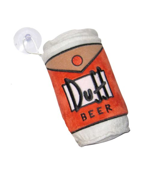 Peluche con ventosa The Simpsons Duff Beer
