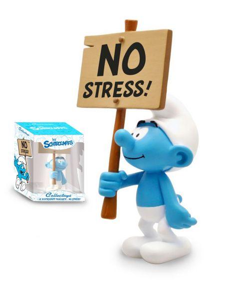 """Plastoy Puffo Costruttore con cartello """"No Stress!"""""""
