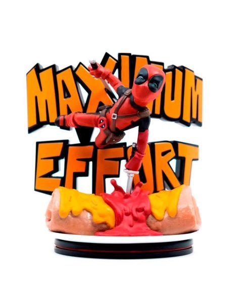 QMx Marvel Comics Q-Fig Max - Deadpool Maximum Effort