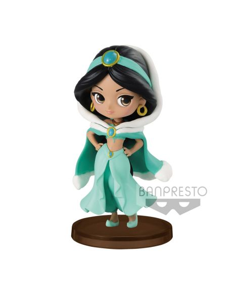 Q Posket Disney Jasmine Winter Costume - Petit Girls Festival Mini Figure