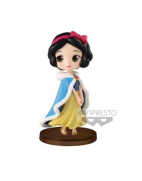 Q Posket Disney Snow White  Winter Costume - Petit Girls Festival Mini Figure