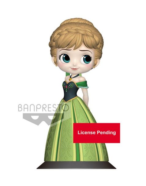 Q Posket Disney Anna Coronation Style - B Pastel Color Version