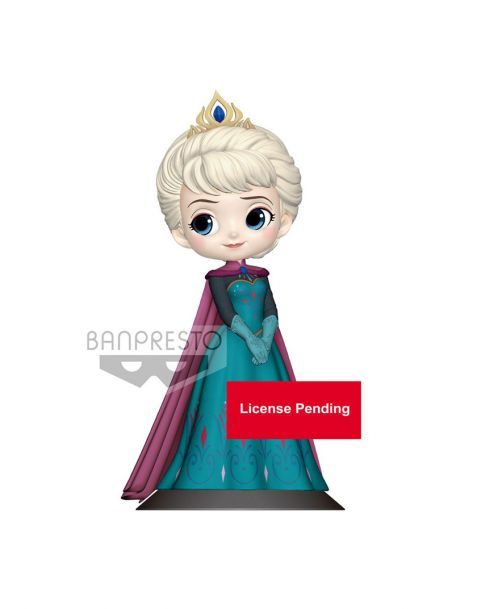 Q Posket Disney Elsa Coronation Style - B Pastel Color Version