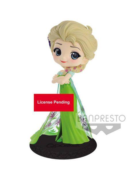 Q Posket Disney Elsa Surprise Coordinate Ver. A