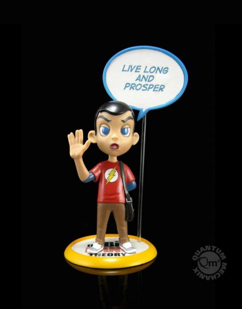 QMx The Big Bang Theory Q-Fig Sheldon Cooper