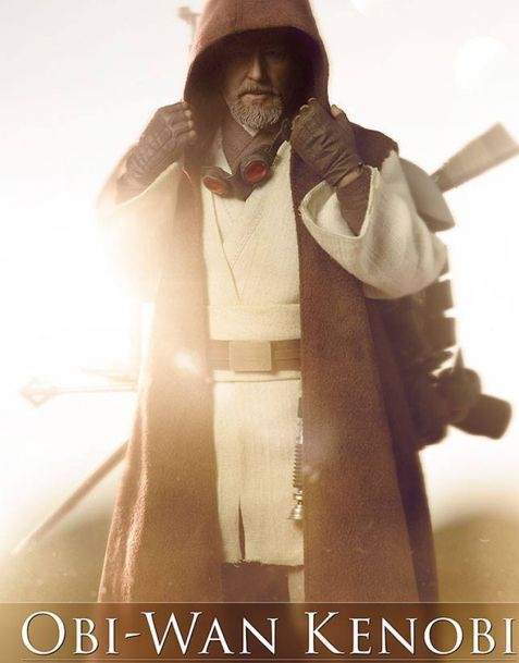 Sideshow Star Wars Mythos Action Figure Obi-Wan Kenobi