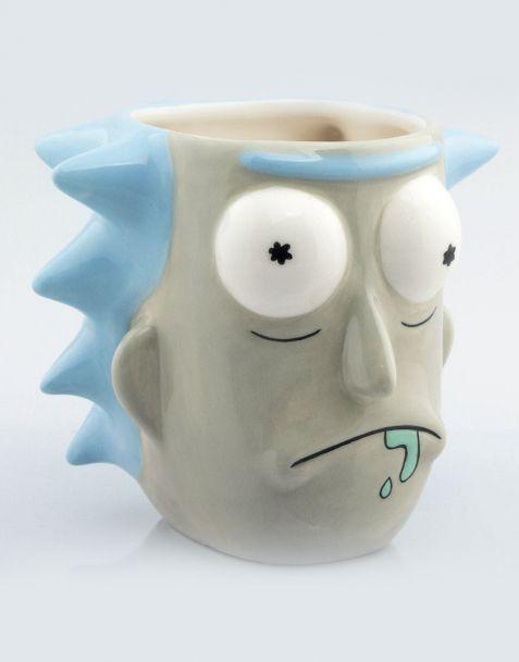 Tazza 3D Rick & Morty  - Rick Sanchez