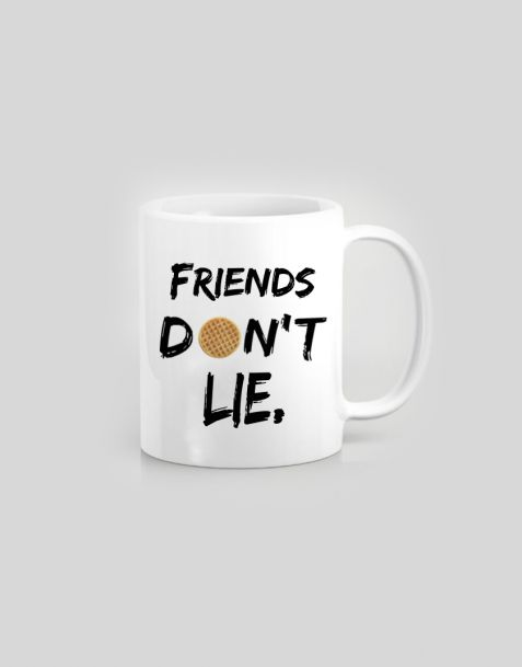 Tazza Stranger Things -  Friends don't lie