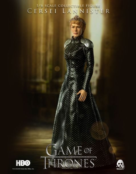 Threezero Game of Thrones Action Figure Cersei Lannister