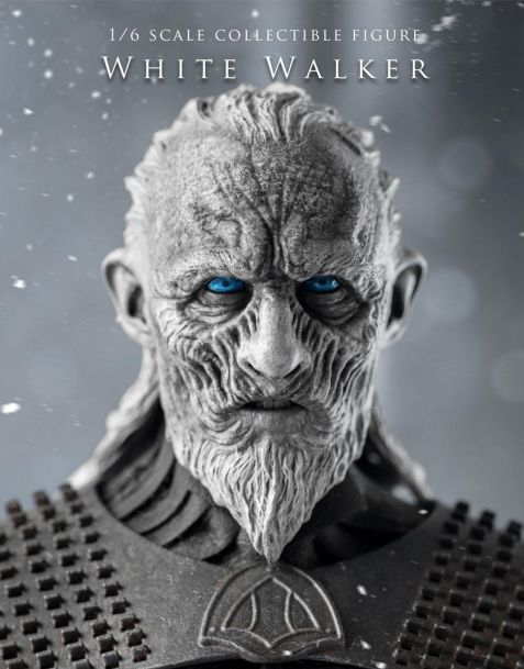 Threezero Game of Thrones Action Figure  White Walker